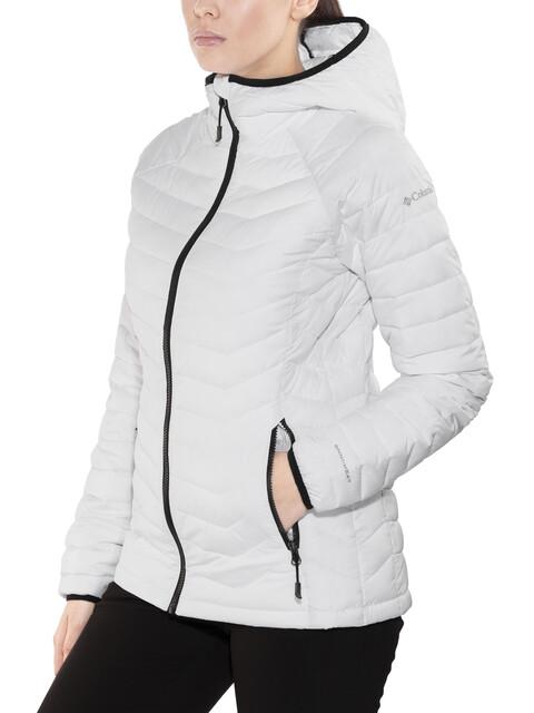 Columbia Powder Lite Hooded Jacket Women White/Black